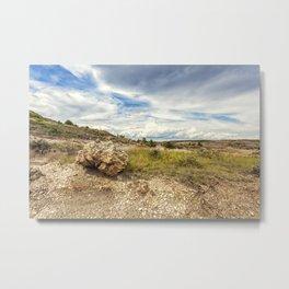 North Dakota Landscape Metal Print