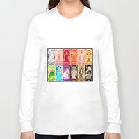 zodiac Long Sleeve T-shirts featuring Zodiac Collection by Sprat