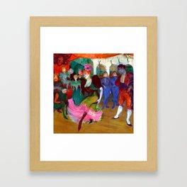 Toulouse Lautrec Marcelle Lender Dancing the Bolero Framed Art Print