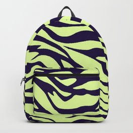 green zebra Backpack