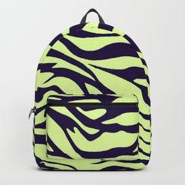 green zebra Backpack