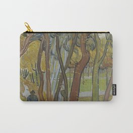 Vincent van Gogh - The Garden of Saint Paul's Hospital ('Leaf-Fall') (1889) Carry-All Pouch
