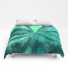 Teal Tunnel Comforters