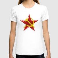 soviet T-shirts featuring Soviet symbol by Emma Harckham