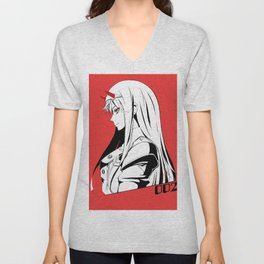 Darling in the Franxx Zero Two Unisex V-Neck