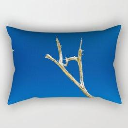 Soaring High in Blue Skies Rectangular Pillow