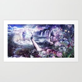 The Painter Art Print