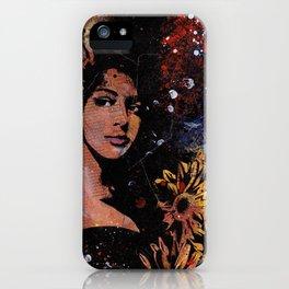 untitled #28914 (sunflowers bikini girl) iPhone Case