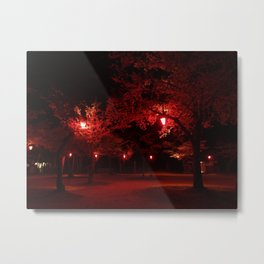 Red Light District Metal Print