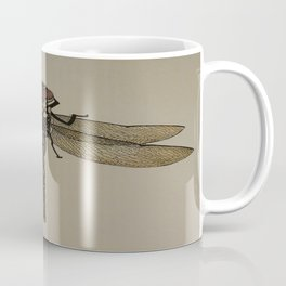 Sunset Dragonfly Coffee Mug