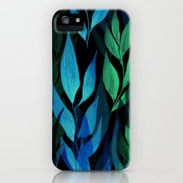 Leafage iPhone Case