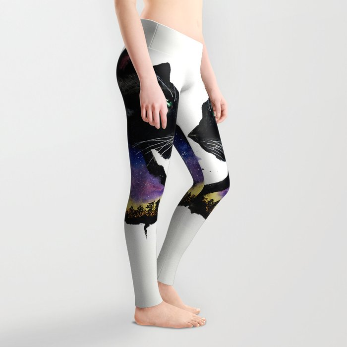 Galaxy Panther Leggings