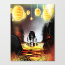 Surrounded by the Cult of the Desert Rose Canvas Print