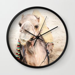 Happy Camel Wall Clock