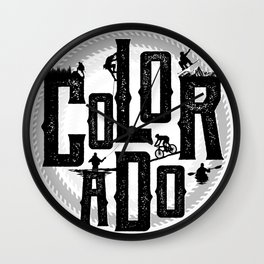 Colorado Playground Wall Clock