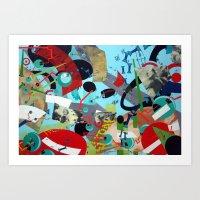 Conscious Dreamings Art Print