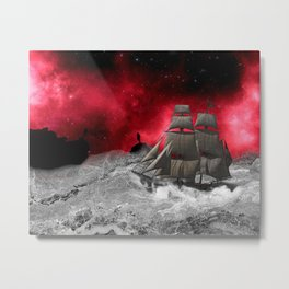 A Journey in a mind Metal Print