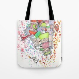Insanely Crazy Tote Bag