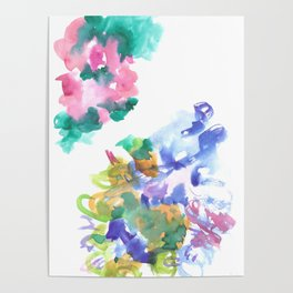 180802 Beautiful Rejection  4| Colorful Abstract Poster