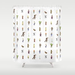 Fallout Shower Curtain
