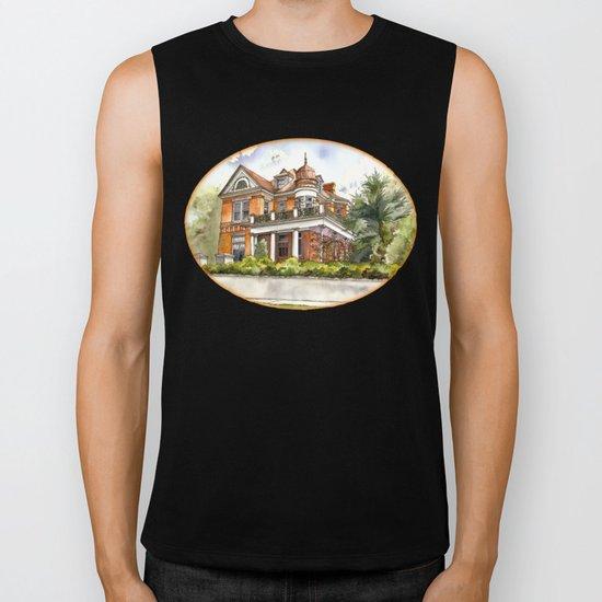 Stately Manor House Biker Tank