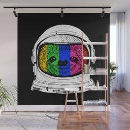 Astronaut Sloth Wall Mural
