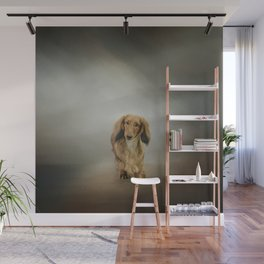 It's Showtime Baby - Dachshund Wall Mural