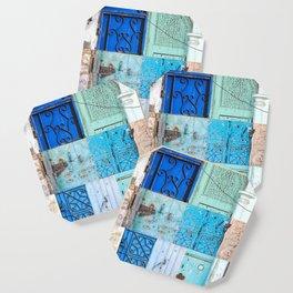 Blue Door Puzzle Coaster