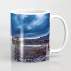 Dark Skies at Eilean Donan Castle Mug