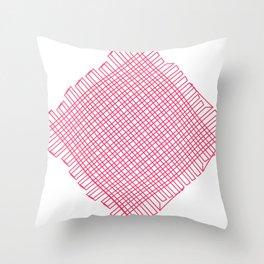 Linien einfach Linien   (A7 B0042) Throw Pillow