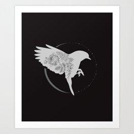 Fly by night Art Print