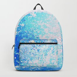 Waiting For Summer Stained Glass #society6 #decor #buyart Backpack
