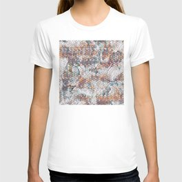 Geometric Design II - Colorful little abstract squares T-shirt
