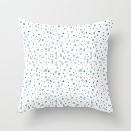 Wet spot Throw Pillow