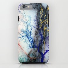 Marble through Tree Branches Red Gold Blue Violet Purple Cyan Tough Case iPhone 6