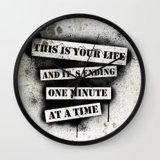 This is your life Wall Clock