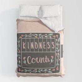 Kindness Counts Comforters