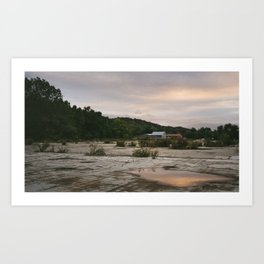 Pennsylvania // Reflections Art Print