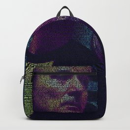 Lost In Translation Screenplay Print Backpack