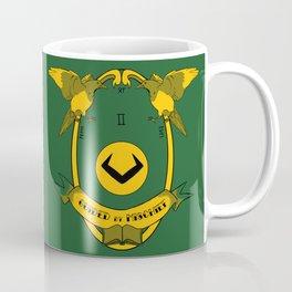 Guided by Mischief - Loki's Army Crest Coffee Mug