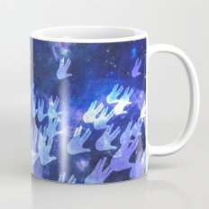 H.E.L.L.O. / blue Coffee Mug