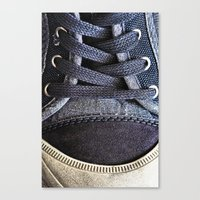 shoe Canvas Prints featuring Shoe by Fine2art