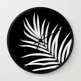 Tropical Palm Leaf #2 #botanical #decor #art #society6 Wall Clock