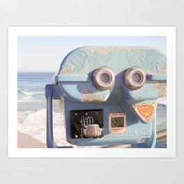 I See Huntington Beach 2 Art Print