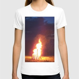 Blazing Beach Bonfire T-shirt