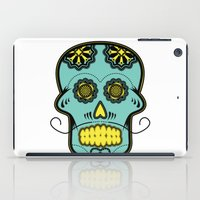 calavera iPad Cases featuring Calavera  by Cody Wilkes-Booth