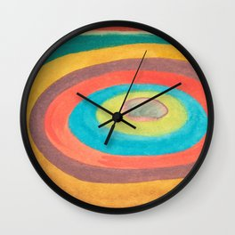 Colorful Stone Wall Clock
