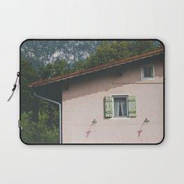 Pink Alpine House Laptop Sleeve