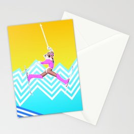 Ski like it's 1989 Stationery Cards
