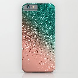 Cali Summer Vibes Lady Glitter #4 #shiny #decor #art #society6 iPhone Case